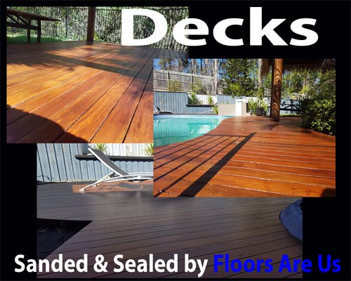 Deck sanding and repairs brisbane