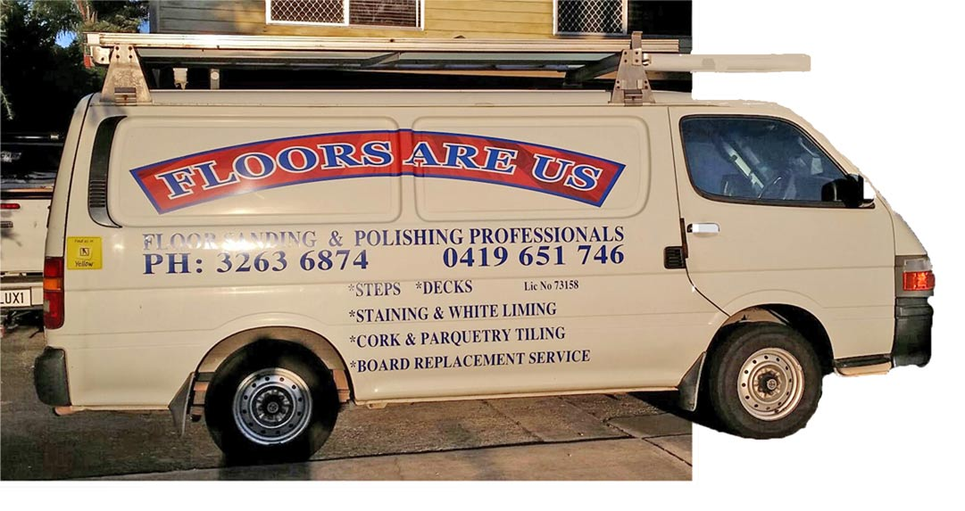 Floors Are Us Van